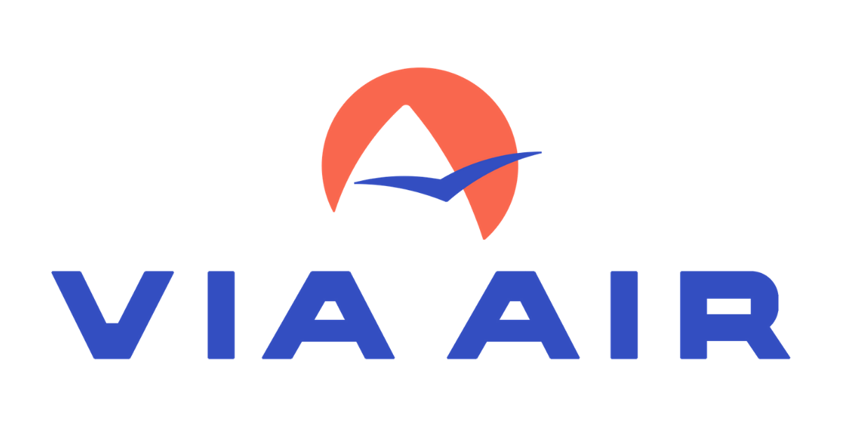 via air logo